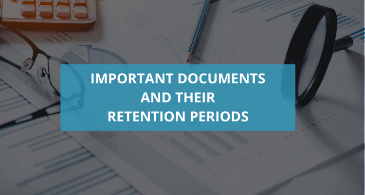 PV-Investments – Important documents and their retention periods